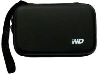 View WD Pouch 2.5 inch Case / Pouch(For All Type of 2.5 inch External Hard Drive, Black) Laptop Accessories Price Online(WD)