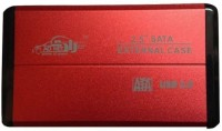 Adnet SATA to USB 3.0 Premium Quality 2.5 inch External Hard Drive enclosure(For Laptop Hard Disk, Red)