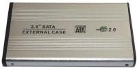 View Tricom Sata Casing 2.5 Inch Laptop Internal Hard Drive Enclosure(For Laptop Sata upto 500GB, Silver) Laptop Accessories Price Online(Tricom)
