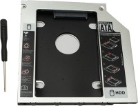 HashTag Glam 4 Gadgets HT HDD CADDY 2.5 inch Internal Hard Drive Enclosure(For HDD / SDD, Black)