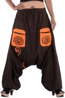 Indi Bargain Geometric Print Cotton Women's Harem Pants