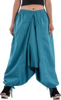 Indi Bargain Solid Cotton Blend Women Harem Pants