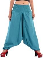 Indi Bargain Solid Cotton Blend Women Harem Pants