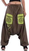 Indi Bargain Geometric Print Cotton Blend Women Harem Pants