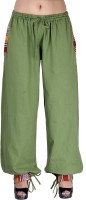 Indi Bargain Solid Cotton Women's Harem Pants