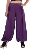 Indi Bargain Solid Viscose Women's Harem Pants