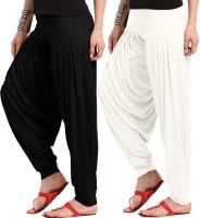 WellFitLook Solid Viscose Women's Harem Pants