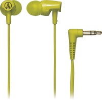 Audio Technica ATH-CLR100 Headphone(Lime Green, In the Ear)