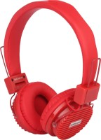 Sonilex SLG-1001 HP Wired Headphone(Red, On the Ear)