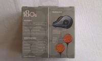 180S Stereo Headphones To Be Used With Ear Warmers Headphone(Orange)