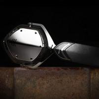 V-Moda Crossfade Wireless Over-Ear Headphone - Phantom Chrome Wired bluetooth Headphone(Black)