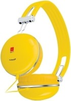 Iball Hiphop Headphone(Yellow, On the Ear)