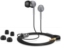 Sennheiser CX 180 Wired Headphone(Black, Grey, In the Ear)