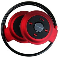 View ROOQ mini503 red-002 Headphone(Red, Black, In the Ear) Laptop Accessories Price Online(ROOQ)