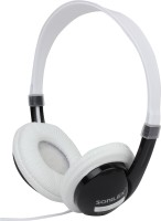 Sonilex SLG-1003HP Wired Headphone(Black, White, Over the Ear)