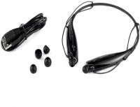 ROOQ HBS730-028 Headset with Mic(Black, In the Ear)