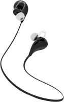 View KOMFEY QY7 JOGGER STEREO DYNAMIC HEADPHONE bluetooth Headphones(Black, In the Ear) Laptop Accessories Price Online(KOMFEY)