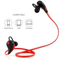 View Sportzee QY7 Jogger Headphone Red Headphone(Red, In the Ear) Laptop Accessories Price Online(Sportzee)