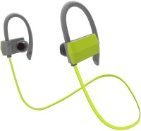 HiTechCart Dacom P7 Headset with Mic(Green, In the Ear)