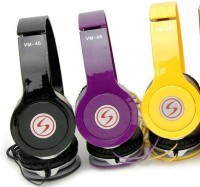 Convenience vm46 Signature Headphone for Moto X Play/Style Wired Headphone(Multicolor, Sent As Per Availability, Over the Ear)