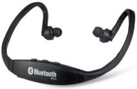 View AAARAV ENTERPRISES 984 Bs19c Wireless Bluetooth Headset With Mic (Multicolor) Wired bluetooth Headphone(Black, Over the Ear) Laptop Accessories Price Online(AAARAV ENTERPRISES)