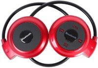 View thego mini503RE-01 Wireless bluetooth Headphone(Red, Black, Over the Ear) Laptop Accessories Price Online(thego)
