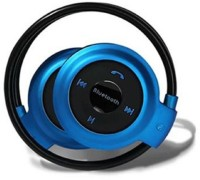 View ROOQ 503bu-019 bluetooth Headphone(Blue, In the Ear) Laptop Accessories Price Online(ROOQ)