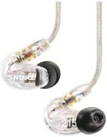 View Shure SE215-CL-KCE Headphone(Clear, In the Ear) Laptop Accessories Price Online(Shure)