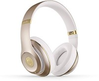 Beats By Dr. Dre Studio Wireless 22908 | Over Ear Headphone Champagne Mhdm2Am/A Wired bluetooth Headphone(White)