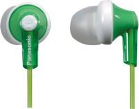 Panasonic RP-HJE118 Headphone(Green, In the Ear)