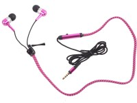 View Hexadisk HexazipPink-003 Headphone(Pink, In the Ear) Laptop Accessories Price Online(Hexadisk)