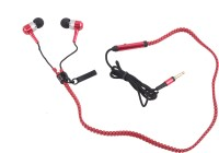 View Hexadisk HexazipRed-002 Headphone(Red, In the Ear) Laptop Accessories Price Online(Hexadisk)