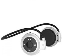 FKU Mini 503 High Bass Stereo Dynamic Headset with Mic(White, On the Ear)