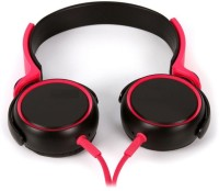 View Techwich MDR-XB400 Wired Headset with Mic(Black, Red, Over the Ear) Laptop Accessories Price Online(Techwich)