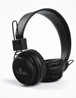 Accede BT-1036 Headset with Mic(Black, Over the Ear)