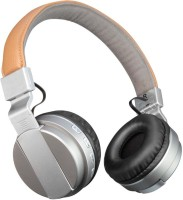 Outre BT008 Headset with Mic(Silver, Over the Ear)