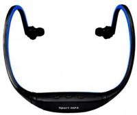 View Techwich SBH-Blue Wireless Headset with Mic(Blue, In the Ear) Laptop Accessories Price Online(Techwich)