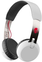 Skullcandy S5GBW-J472 Grind Headset with Mic(White, On the Ear)