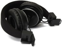 FKU TM001 Headset with Mic(Black, Over the Ear)