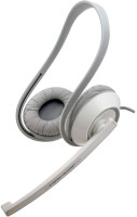Amkette Truchat Fusion Wired Wired Headset with Mic(White, On the Ear)