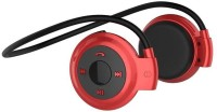 FKU Mini 503 High Bass Stereo Dynamic Headset with Mic(Red, On the Ear)