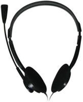 Intex Standard Black Headset with Mic(Black, On the Ear)
