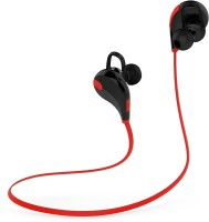 Chkokko QY7 Headset with Mic(Red, Black, In the Ear)