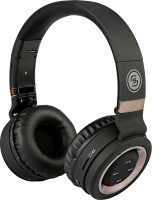 Sound One P-6 (Black/Copper) Headset with Mic(Black/Copper, Over the Ear)