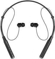 HiTechCart Roman Z6000 Wireless 4.1 Sport Headphone Neckband In-ear Stereo Earphone with Microphone Sweatproof Headset with Mic(Black, In the Ear)