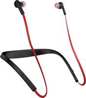 Jabra Halo Smart Headset with Mic(Red, In the Ear)