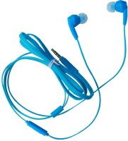 Cognetix Nura CX 410 Wired Headset with Mic(Blue, In the Ear)
