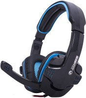 View MARVO h8316 BL Wired Headset with Mic(Blue, Over the Ear) Laptop Accessories Price Online(MARVO)