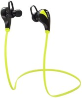 iKare sports 3 Headset with Mic(Green, In the Ear)