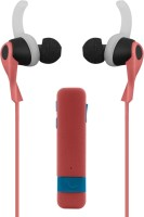 Shopizone Sports Bluetooth Headset with Mic(Pink, In the Ear)